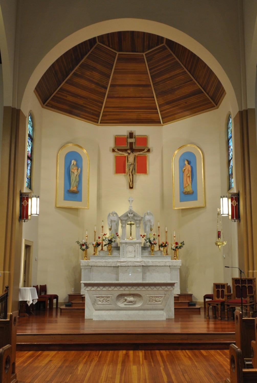 St Joachim Church Liturgical Design Lawrence Hoy Studios